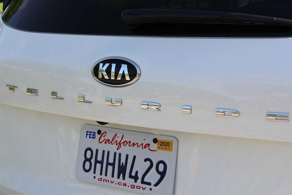 Ảnh Tên xe xe Kia Telluride 2021