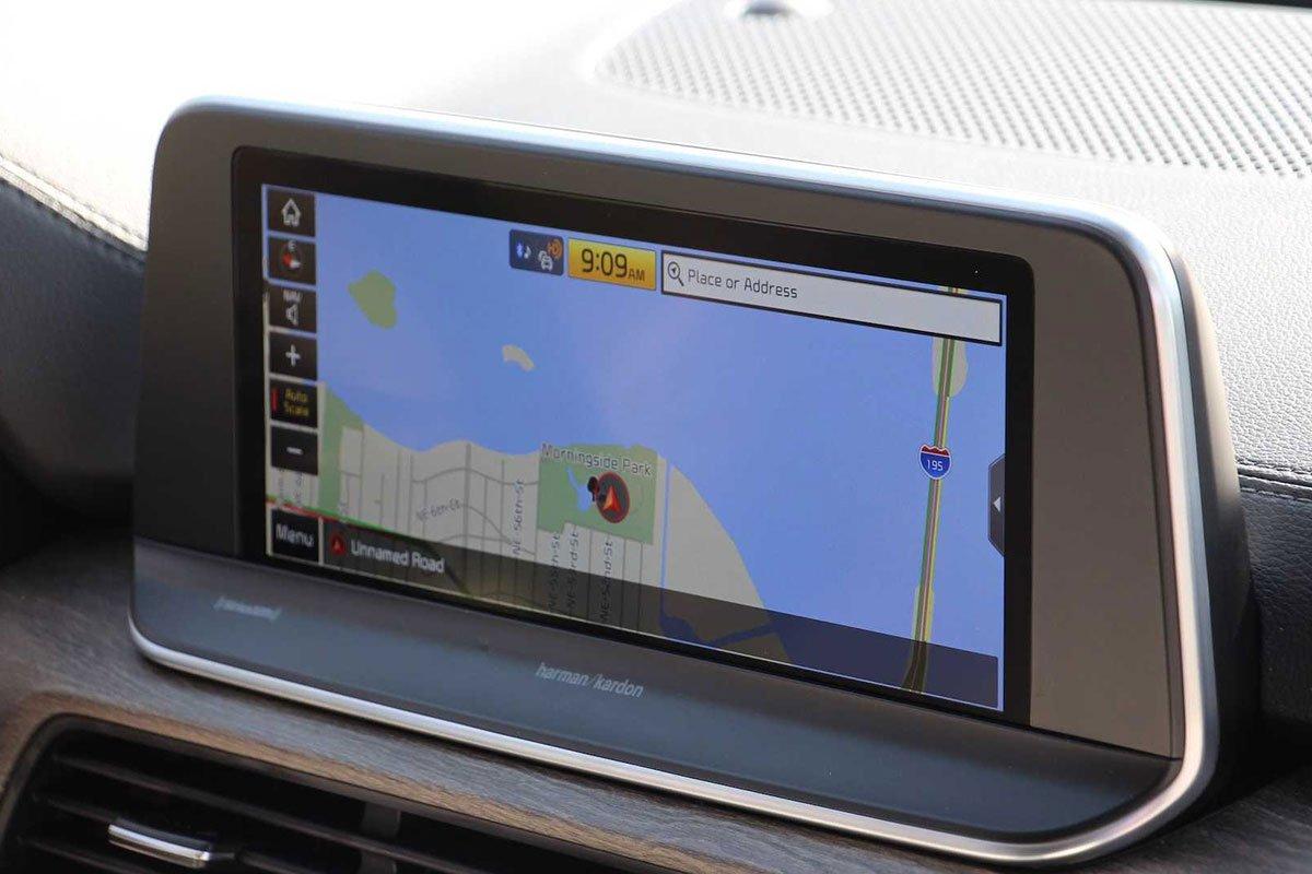 Ảnh Màn hình xe Kia Telluride 2021