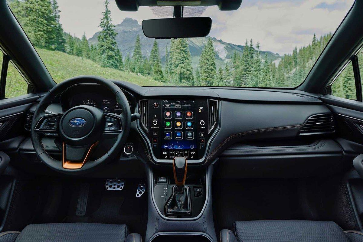 Ảnh Khoang lái xe Subaru Outback 2022