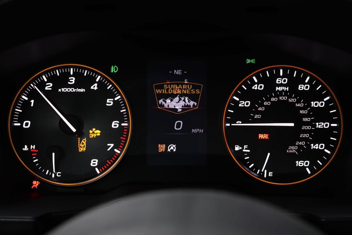 Ảnh Đồng hồ xe Subaru Outback 2022