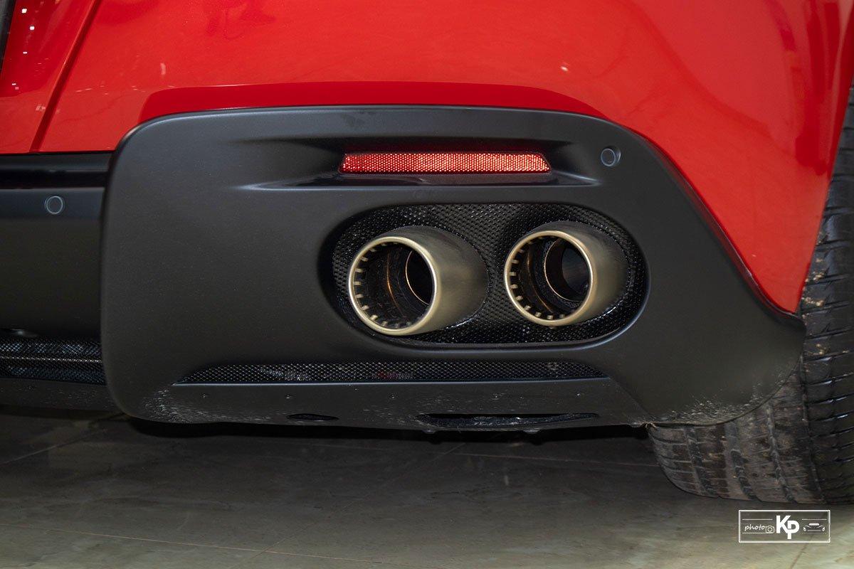 """Cận cảnh xe Ferrari Roma màu đỏ Rosso """"độc nhất"""" Việt Nam a6"""