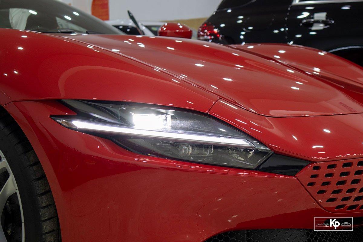 """Cận cảnh xe Ferrari Roma màu đỏ Rosso """"độc nhất"""" Việt Nam a2"""