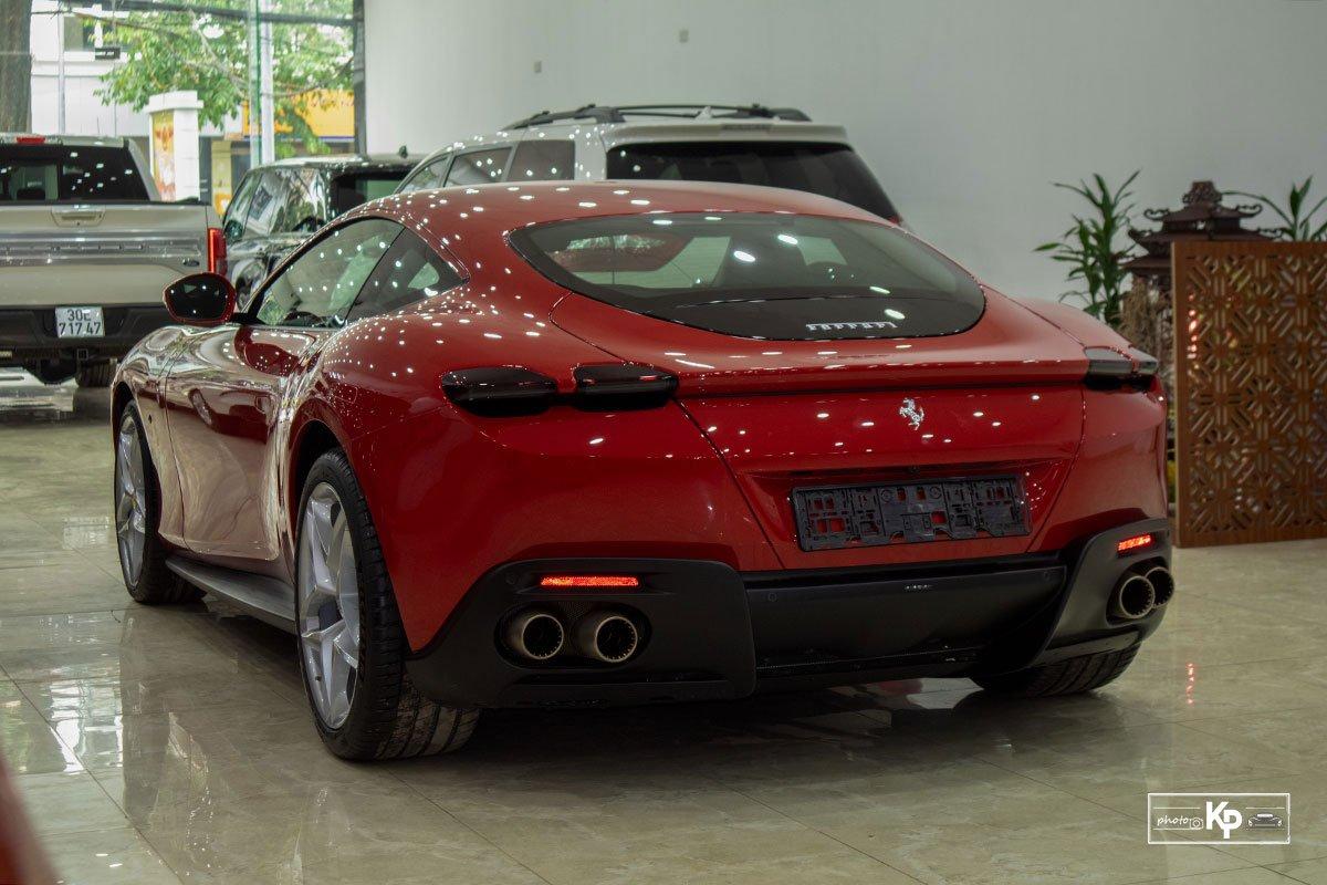 """Cận cảnh xe Ferrari Roma màu đỏ Rosso """"độc nhất"""" Việt Nam a22"""