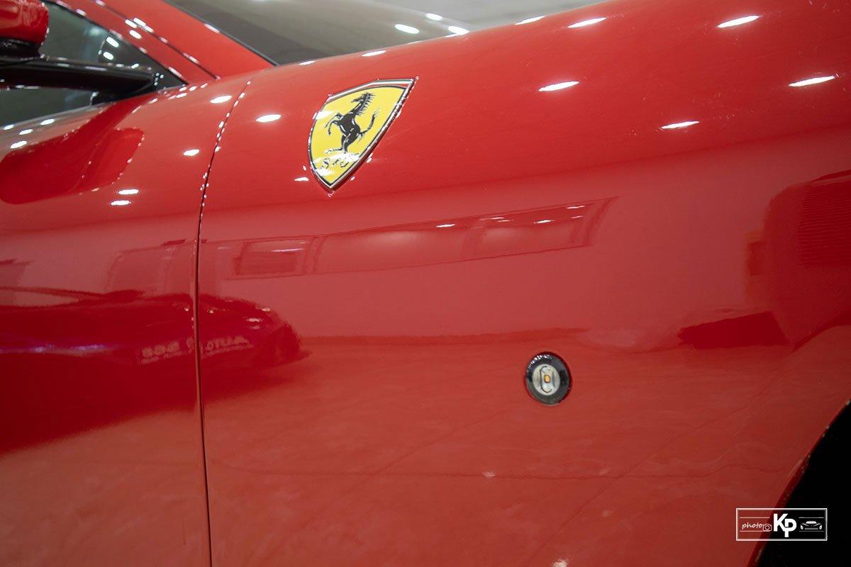 """Cận cảnh xe Ferrari Roma màu đỏ Rosso """"độc nhất"""" Việt Nam a16"""