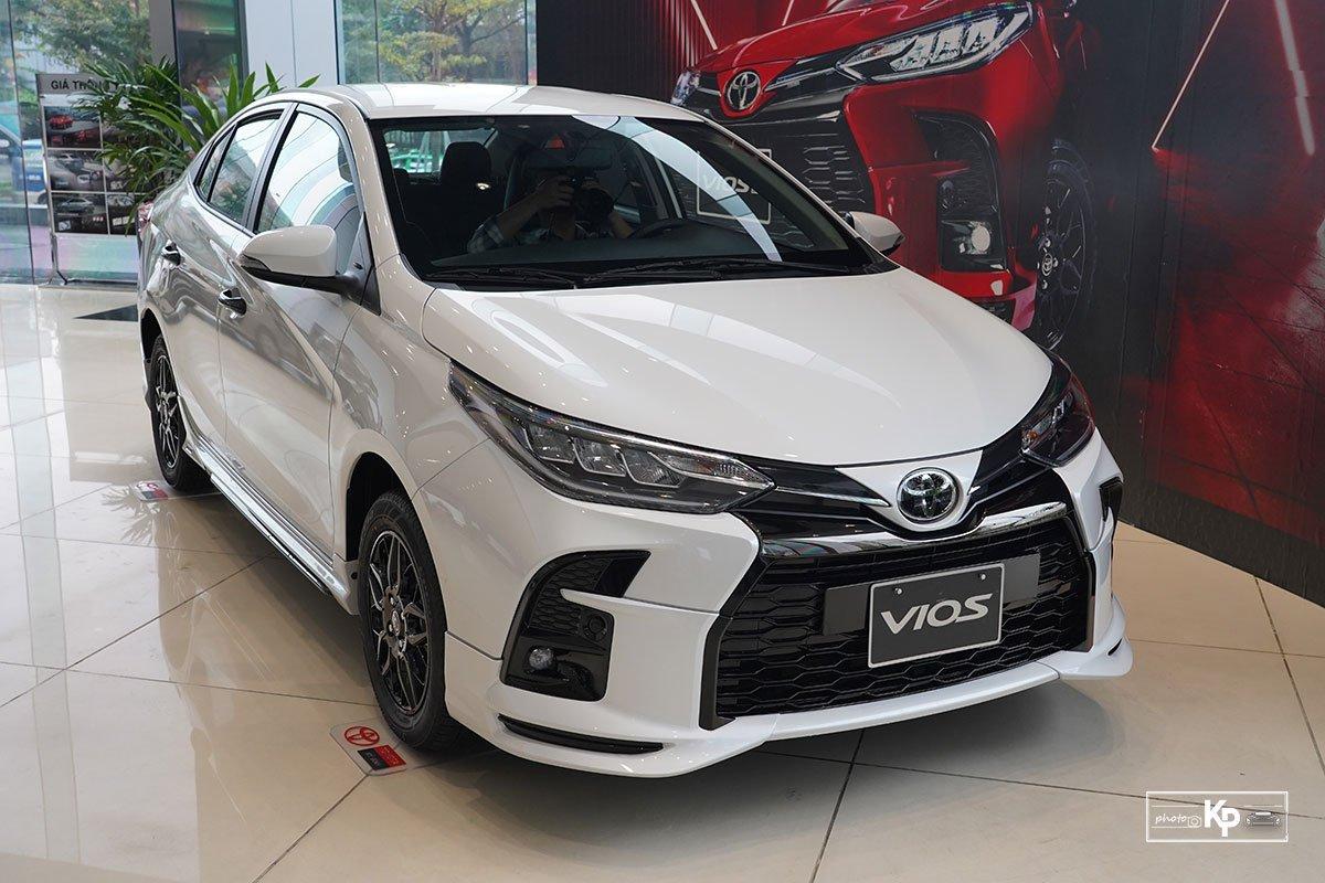Toyota Vios GR-S vừa ra mắt thị trường Việt 1