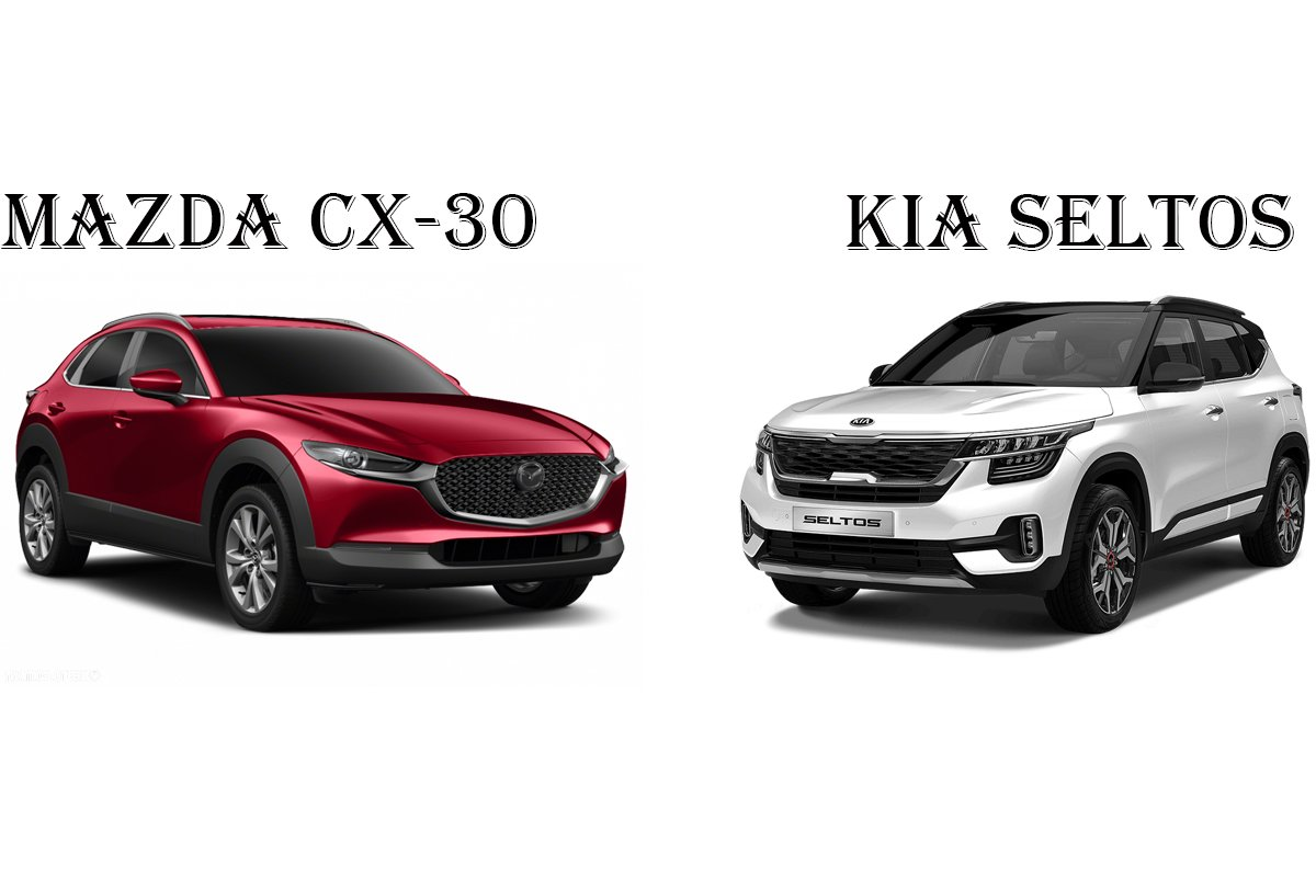 So sánh xe Mazda CX-30 2021 và Kia Seltos 2021: A1