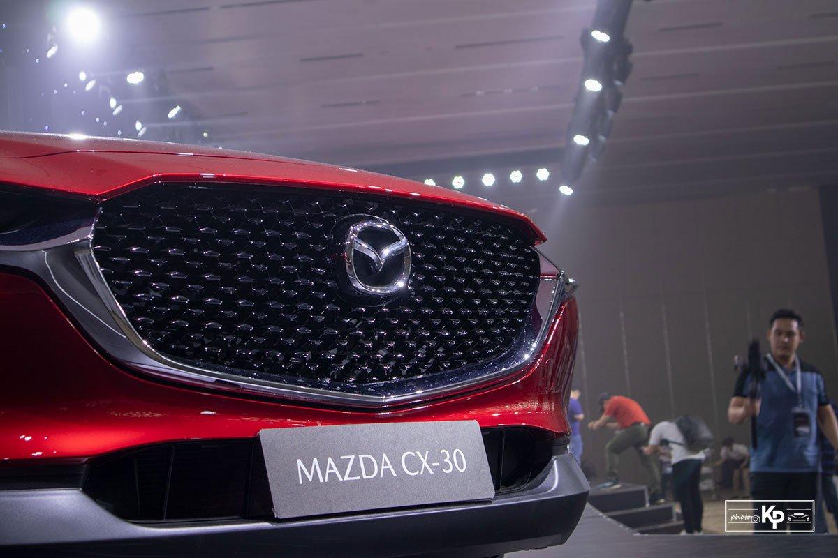 Ảnh Lưới tản nhiệt xe Mazda CX-30 2021