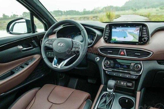 Hyundai Santa Fe ưu đãi lớn tại đại lý - Ảnh 3.