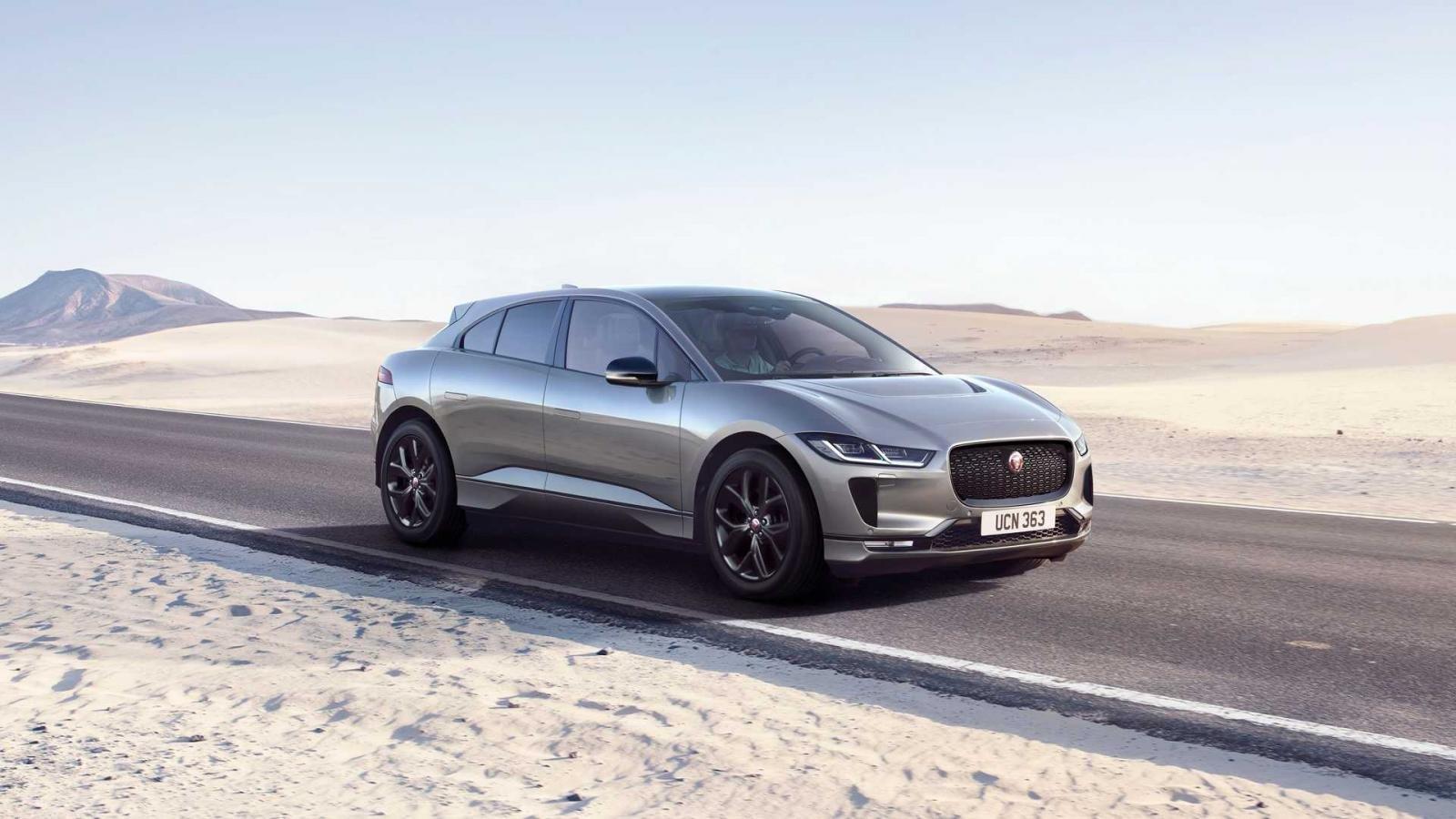 SUV Jaguar I-PACE phiên bản màu đen đặc biệt cung cấp nhiều tùy chọn màu nội thất khác nhau.