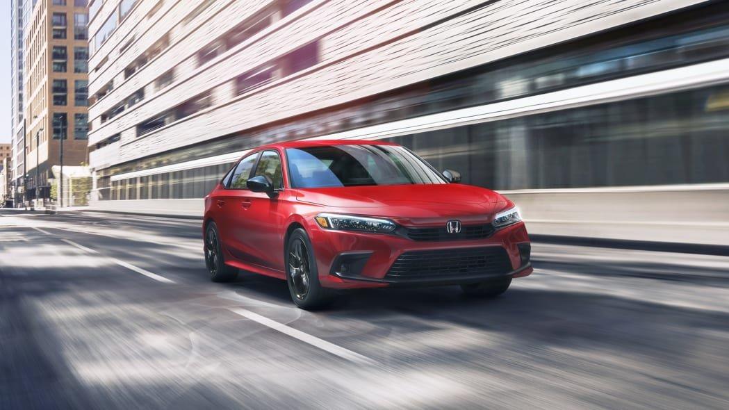 Honda Civic 2022 sedan vén màn.