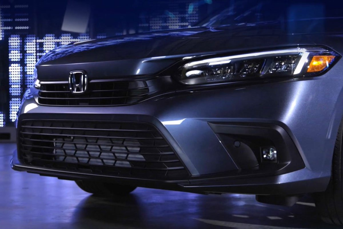 Ảnh Lưới tản nhiệt xe Honda Civic 2022