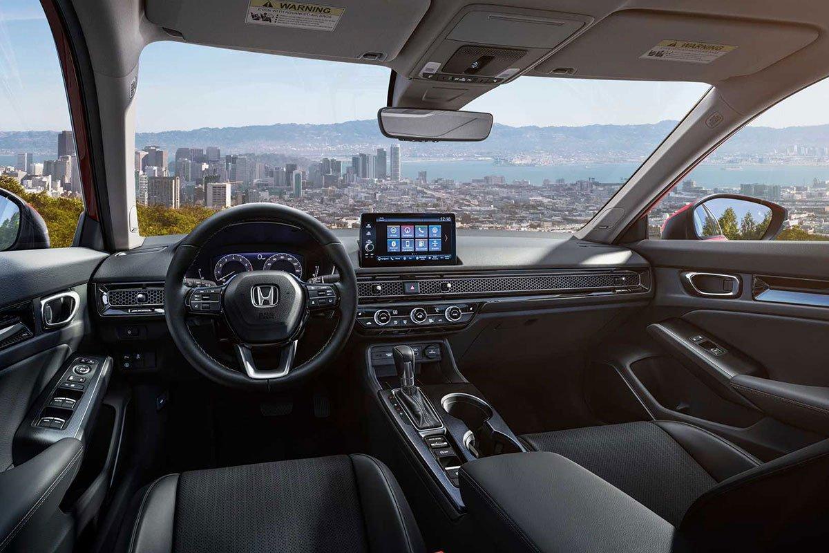 Ảnh Khoang lái xe Honda Civic 2022