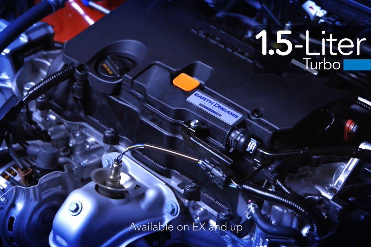 Ảnh Động cơ xe Honda Civic 2022
