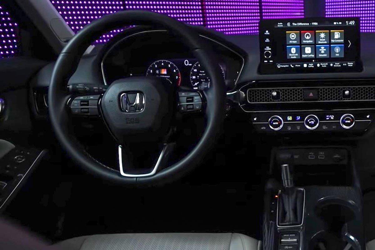 Ảnh Vô-lăng xe Honda Civic 2022