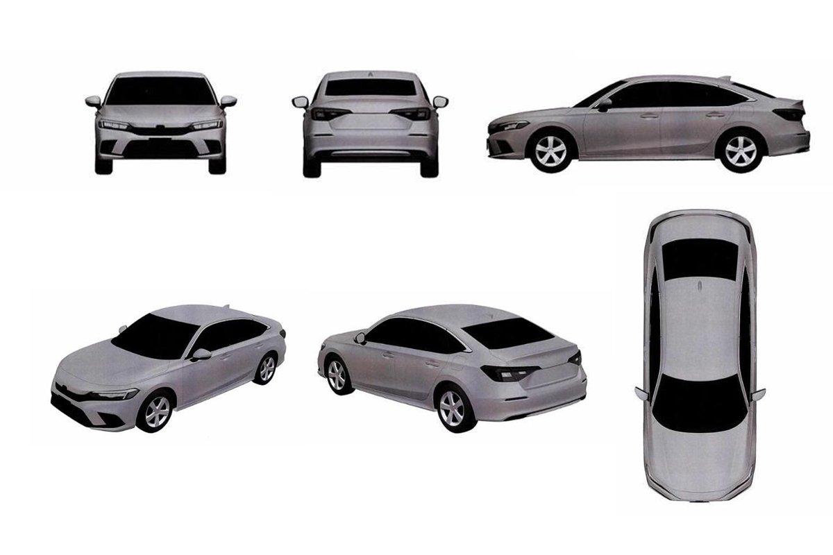 Honda Civic 2022 vừa ra mắt, hiện đã được đăng kí bảo hộ tại Việt Nam - Ảnh 1.