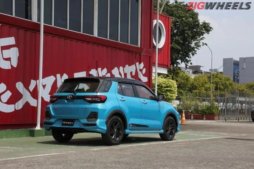 Toyota Raize sở hữu thiết kế thể thao.
