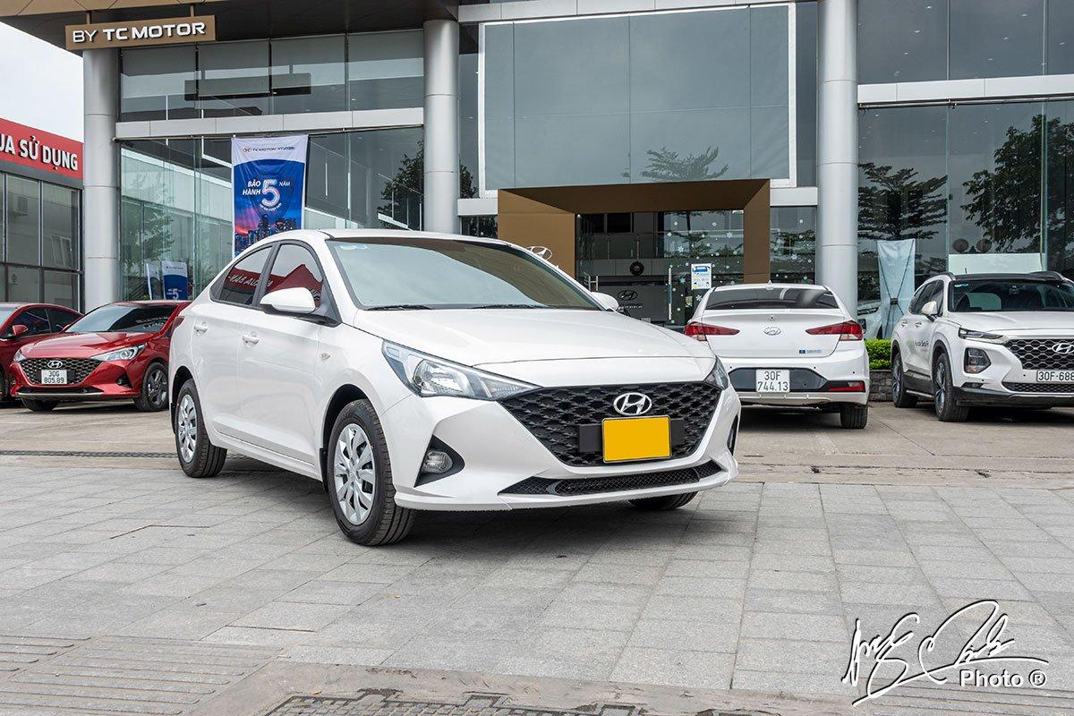 Soi chi tiết Hyundai Accent 1.4MT tiêu chuẩn 2021, giá hơn 400 triệu đồng đấu Vios, City a18