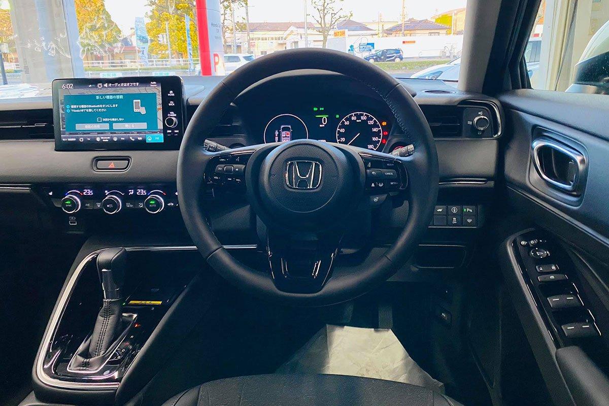 """Cận cảnh Honda HR-V 2022 tại đại lý, """"lột xác"""" hoàn toàn, dễ thành hàng """"hot"""" qua mặt Seltos a4"""