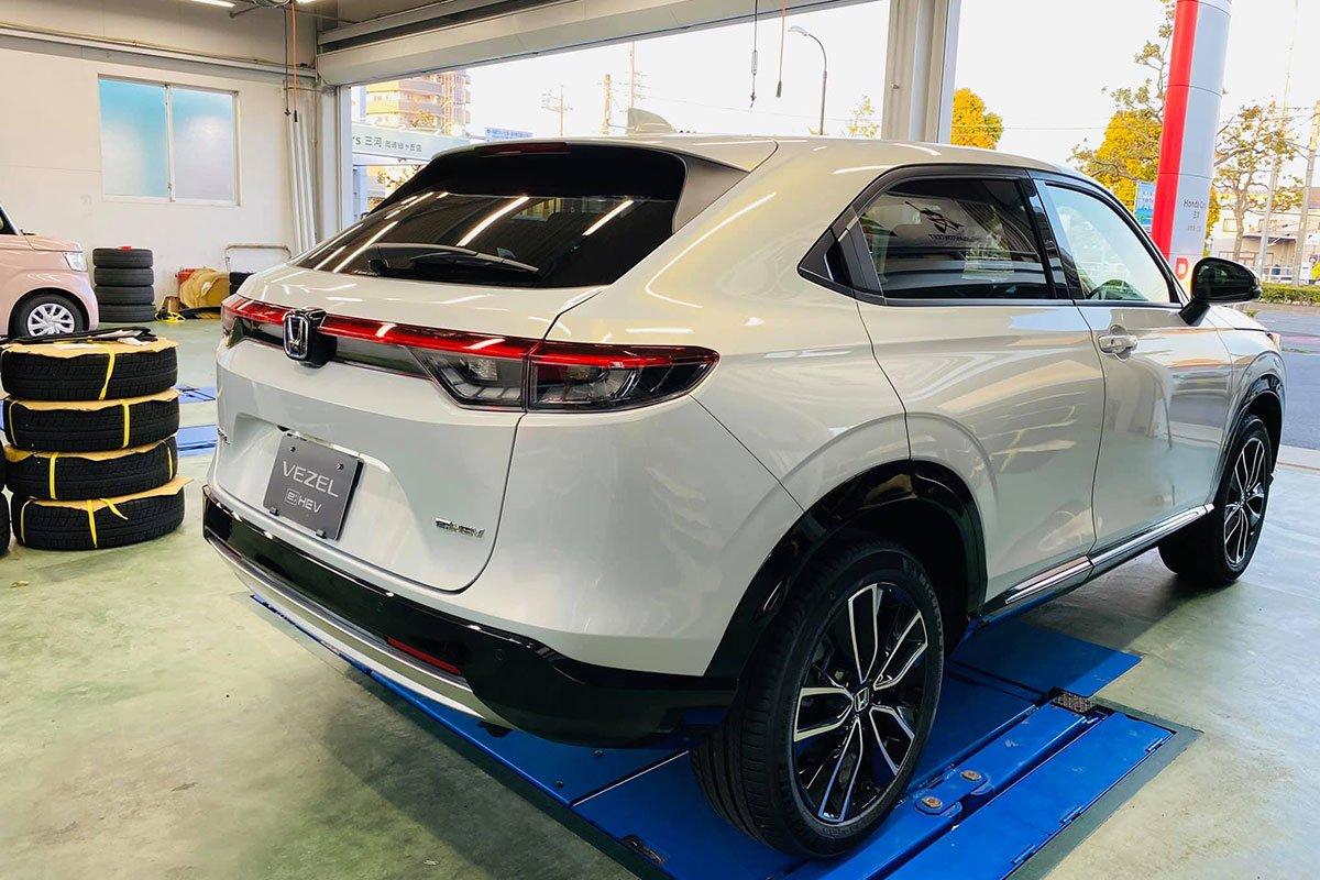 """Cận cảnh Honda HR-V 2022 tại đại lý, """"lột xác"""" hoàn toàn, dễ thành hàng """"hot"""" qua mặt Seltos a5"""