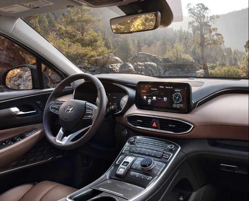 Đại lý trong nước bắt đầu nhận cọc Hyundai Santa Fe 2022 - Ảnh 3.