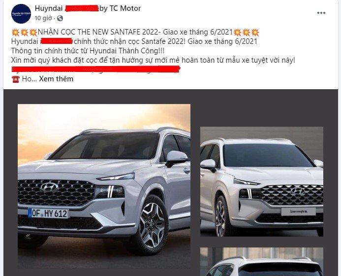 Đại lý trong nước bắt đầu nhận cọc Hyundai Santa Fe 2022 - Ảnh 2.
