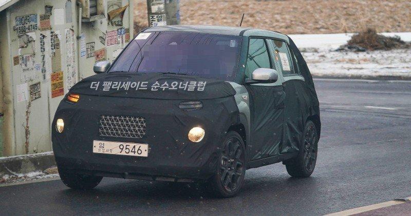 SUV mới giá rẻ Hyundai AX1 lần đầu nhá hàng.