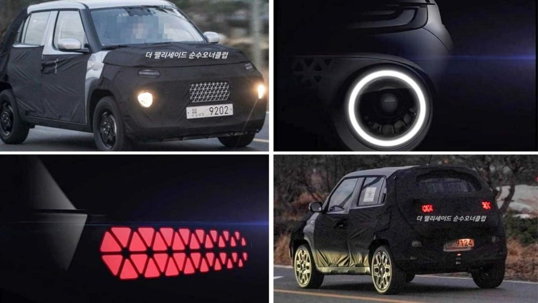 SUV mới giá rẻ Hyundai AX1 còn ẩn chứa nhiều bí mật.