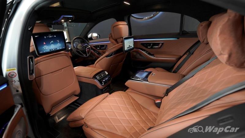 Mercedes-Benz S-Class 2021 tiện nghi và an toàn tuyệt đỉnh.