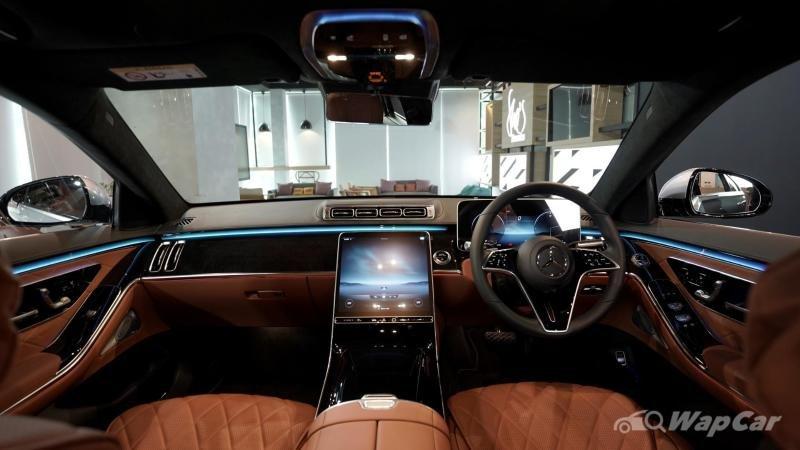Nội thất Mercedes-Benz S-Class 2021 hiện đại, sang trọng và hoa mỹ.