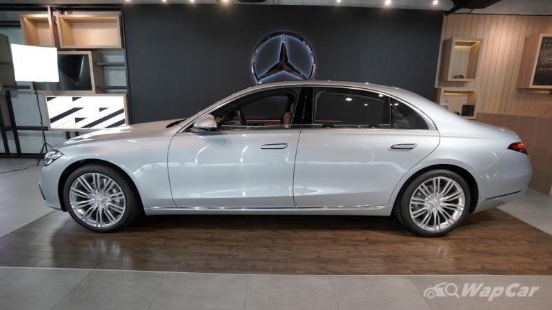 Mercedes-Benz S-Class 2021 S450 4Matic Luxury mang mã V223 chỉ trục cơ sở dài.