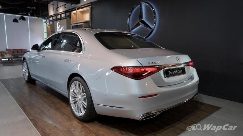 Mercedes-Benz S-Class 2021 quyến rũ với mọi góc nhìn.