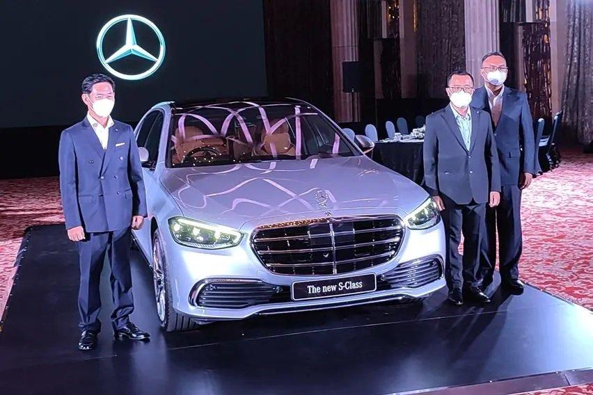 Mercedes-Benz S-Class 2021 vén màn tại Indonesia.