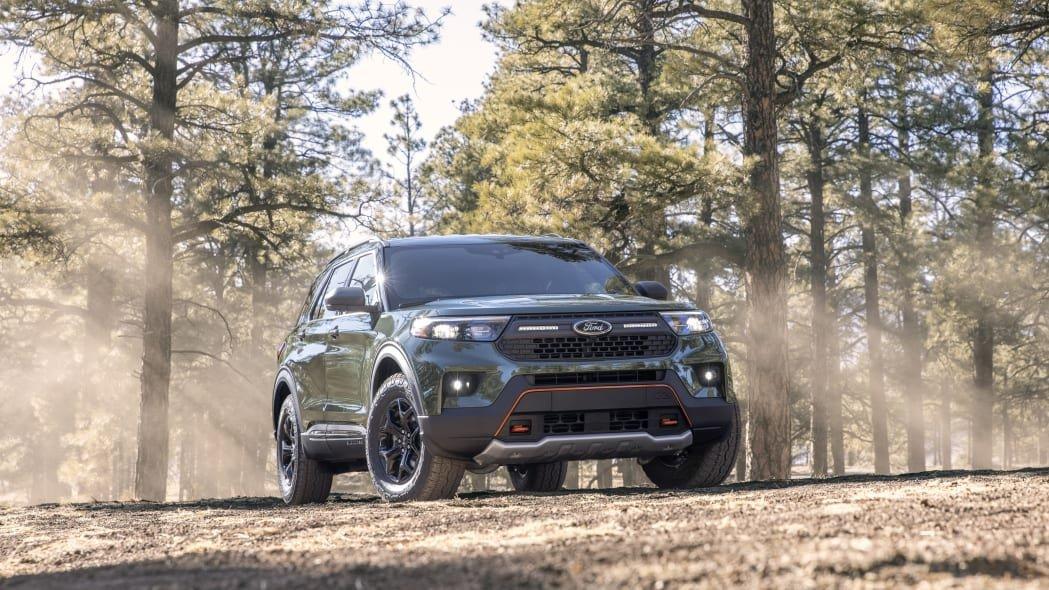 Ford Explorer 2021 Timberline - phiên bản vượt địa hình thực thụ dành cho dân chơi xe offroad.