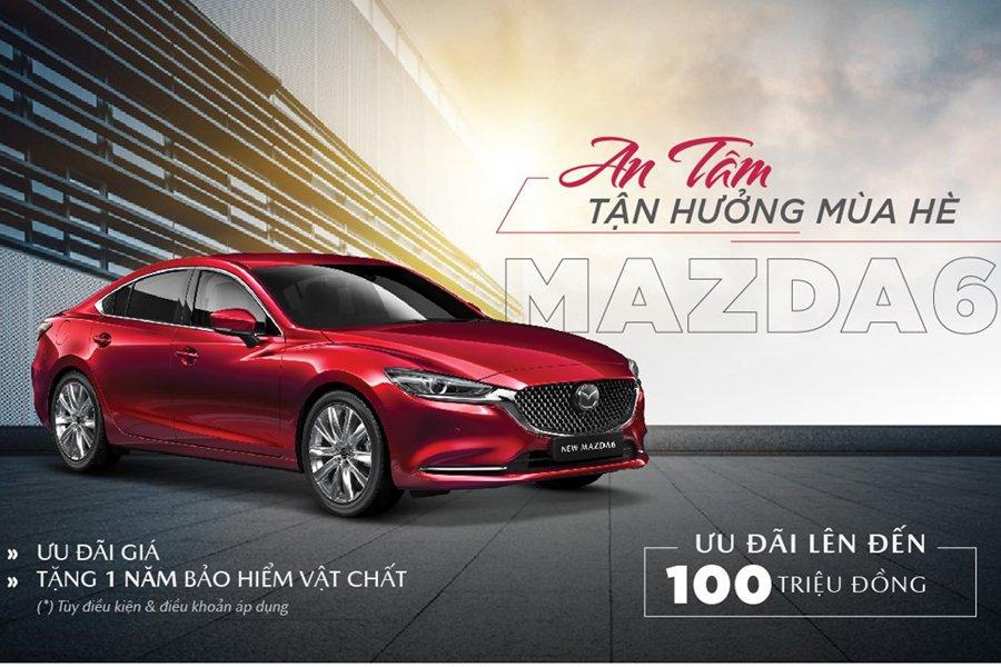 Mazda6 ưu đãi đến 100 triệu đồng 1