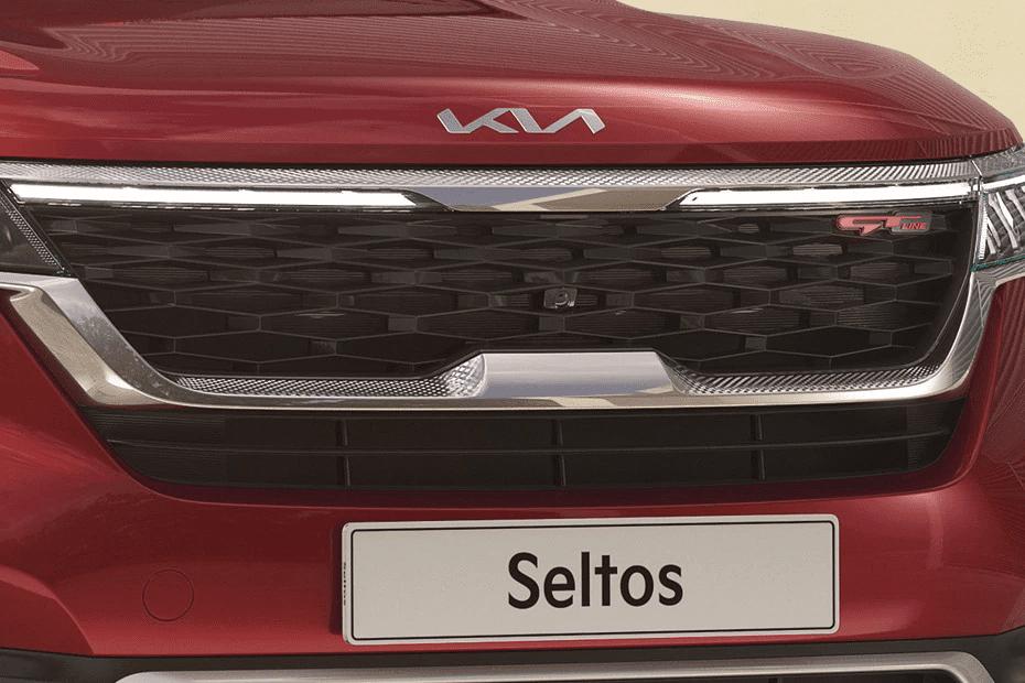 Logo Kia Seltos 2021 cách tân kiểu mới.