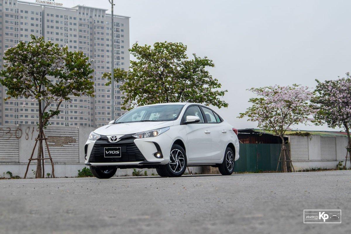 Toyota tung ra phiên bản nâng cấp của Vios 2021, bổ sung thêm biến thể GR-S.