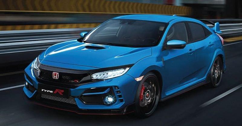 Honda Civic Type R 2021 cập nhật mới cung cấp kèm theo 1 tùy chọn hấp dẫn.