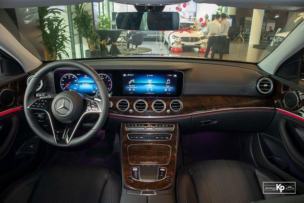 Mercedes-Benz E200 Exclusive 2021 giá hơn 2,3 tỷ đồng có gì đặc biệt? a3