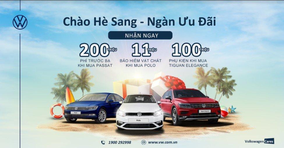Volkswagen tung ưu đãi hấp dẫn cho Tiguan Elegance, Passat và Polo.