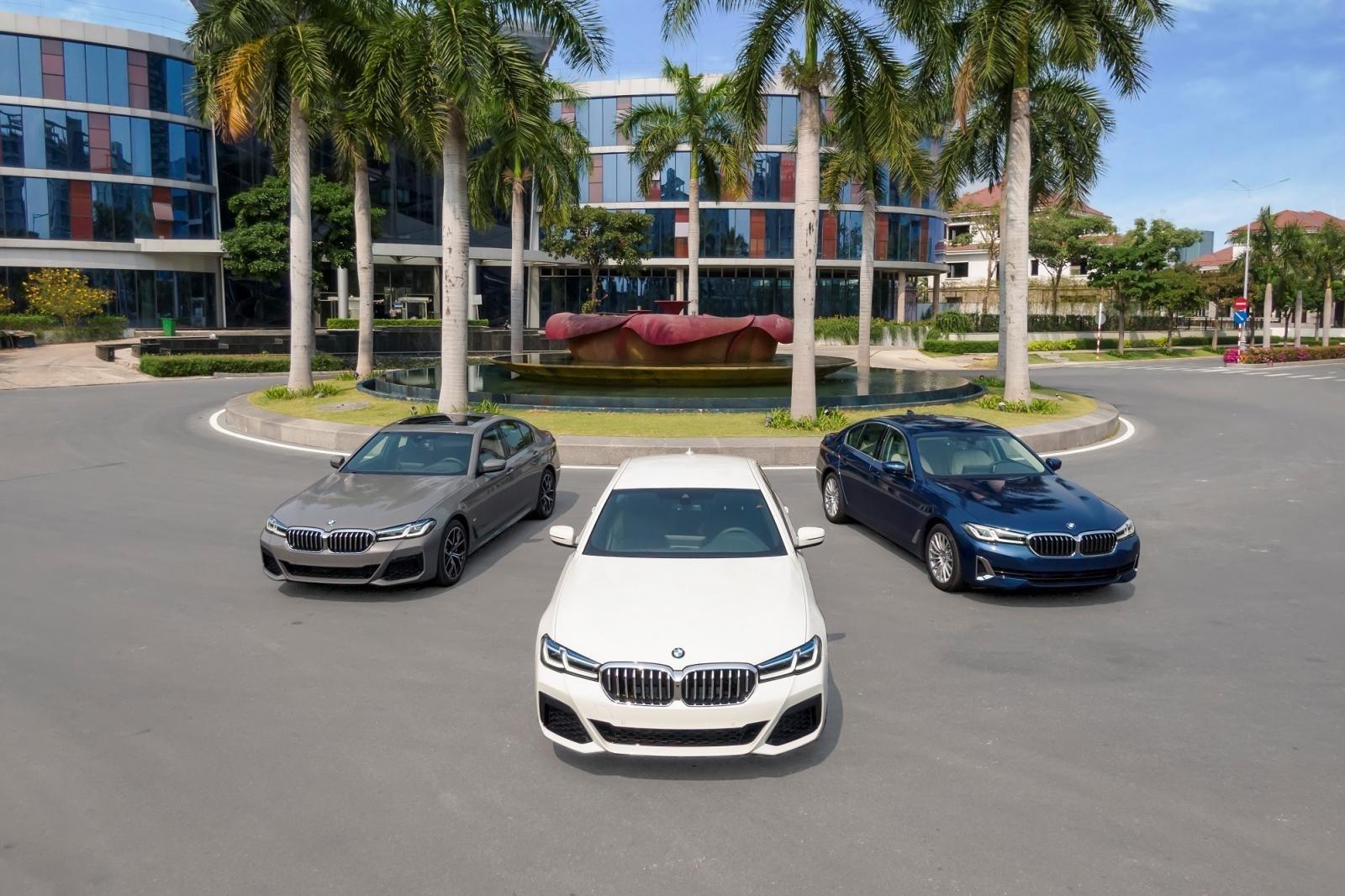 Ngoại thất BMW 5-Series 2021 mới nhất.
