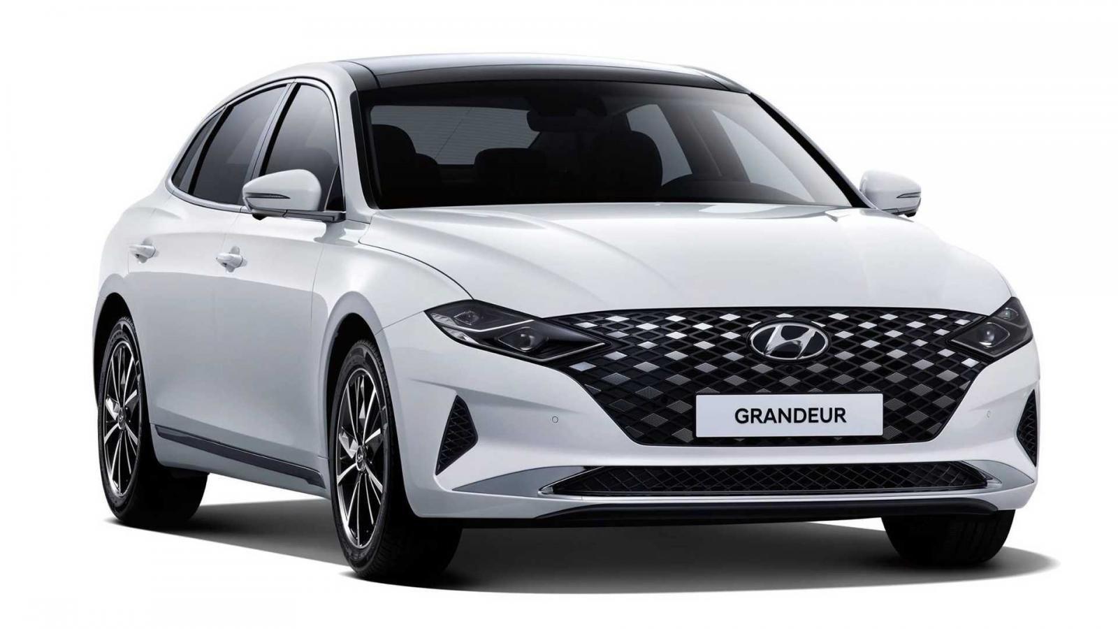 Hyundai Grandeur 2021 facelift mới xuất hiện trước khi mô hình 2022 được vén màn.