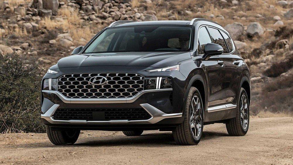 Lộ giá bán Hyundai Santa Fe 2021 mới sắp ra mắt tại Việt Nam - Ảnh 1.