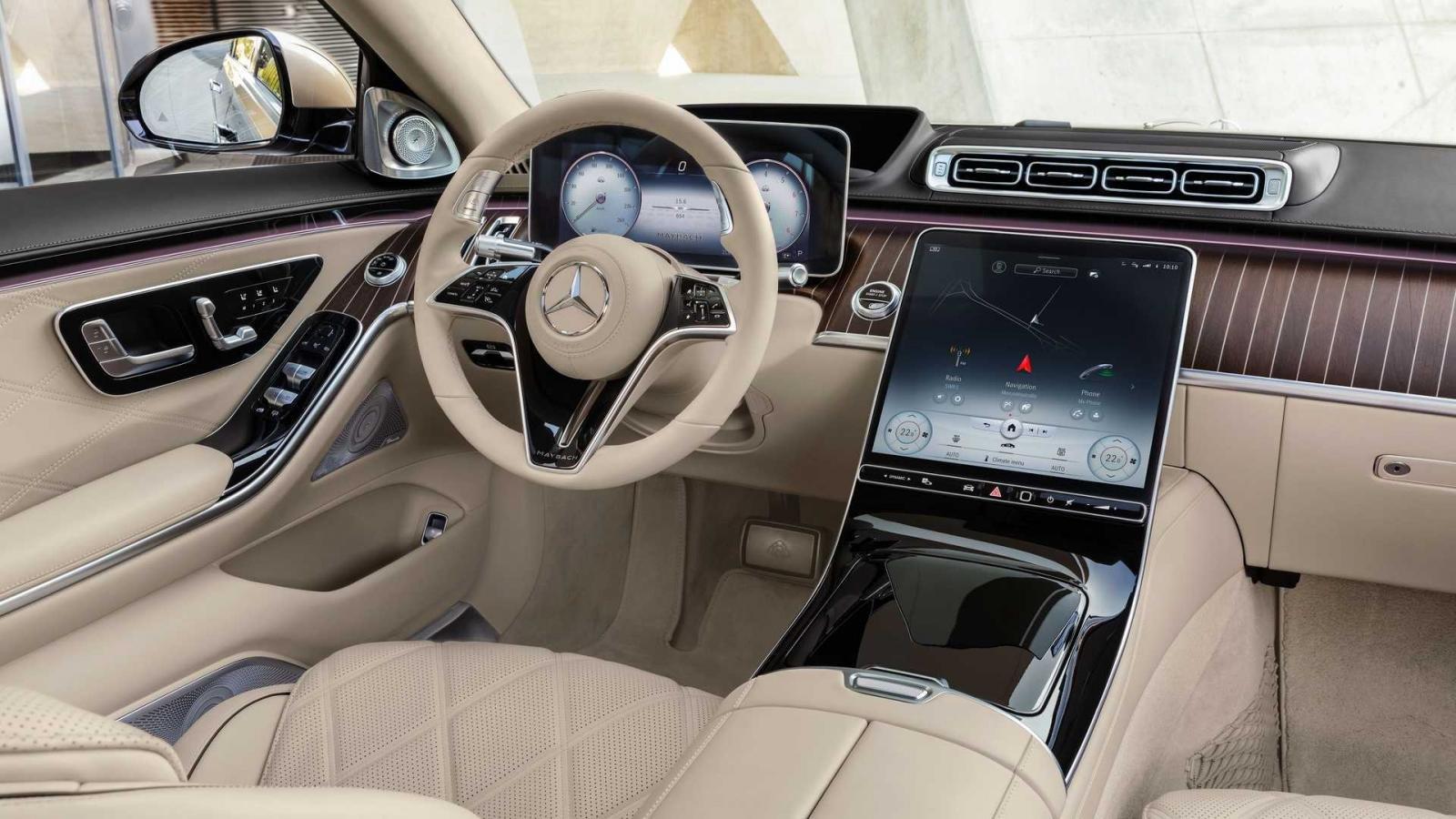 Mercedes-Maybach S680 2022 V12 thừa hưởng sức mạnh từ người anh em AMG.