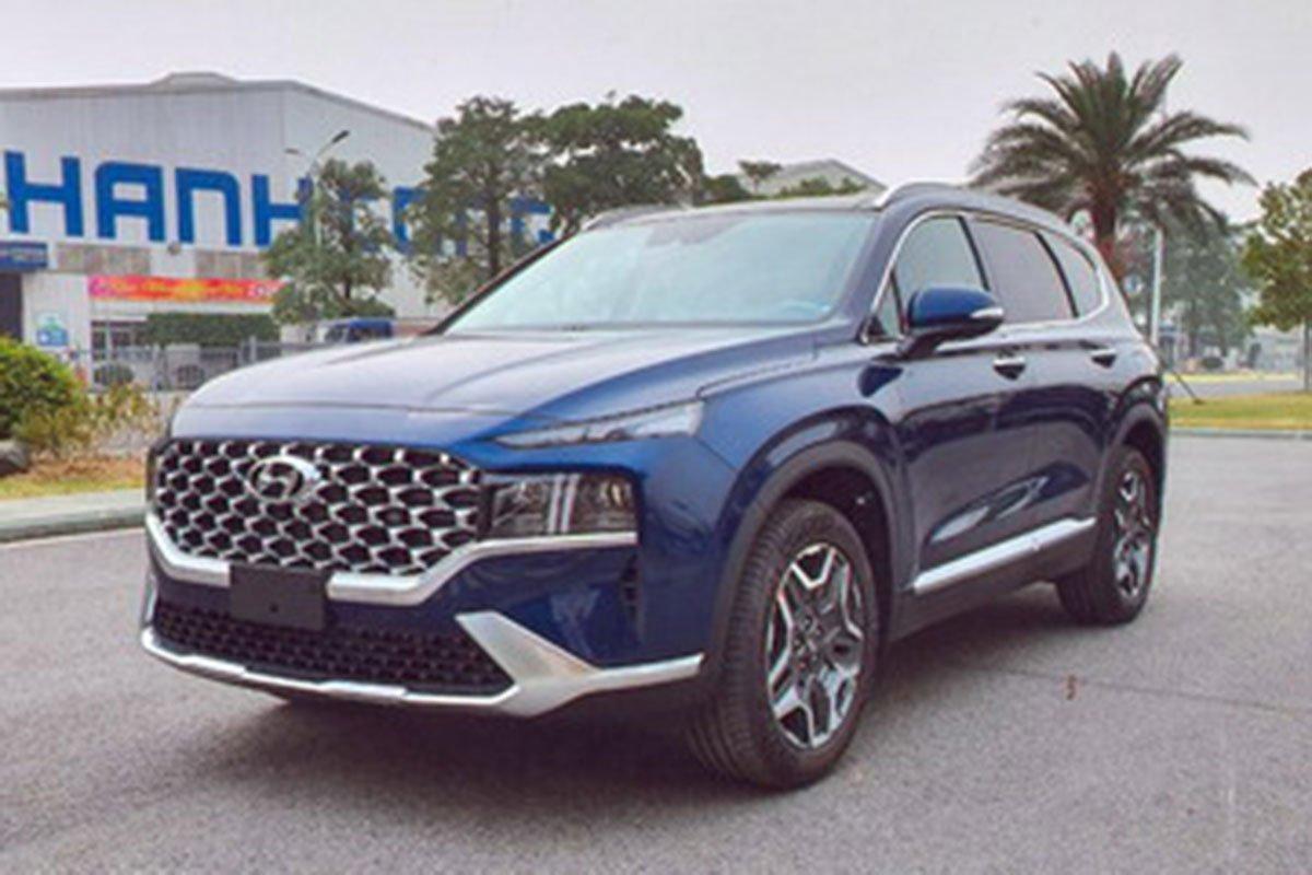 Lộ full thông số Hyundai Santa Fe 2021 trước ngày ra mắt, đầy ắp công nghệ như Sorento a1