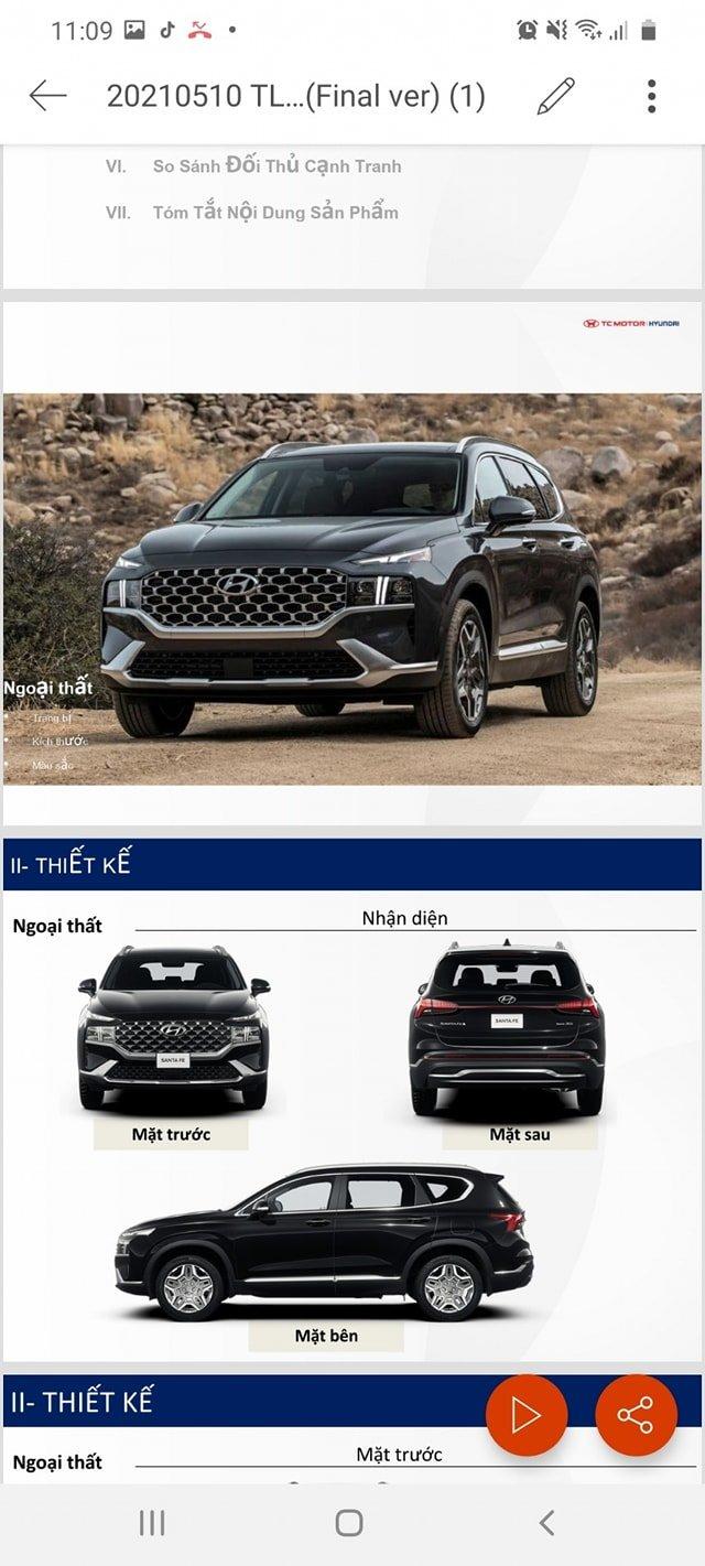 Lộ full thông số Hyundai Santa Fe 2021 trước ngày ra mắt, đầy ắp công nghệ như Sorento a7
