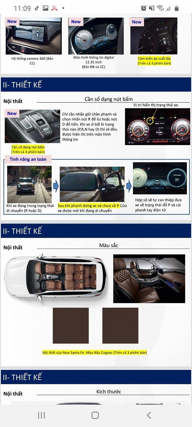 Lộ full thông số Hyundai Santa Fe 2021 trước ngày ra mắt, đầy ắp công nghệ như Sorento a11