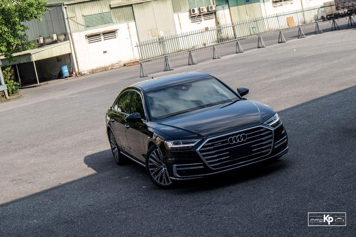 Ảnh Đầu xe Audi A8L 2021