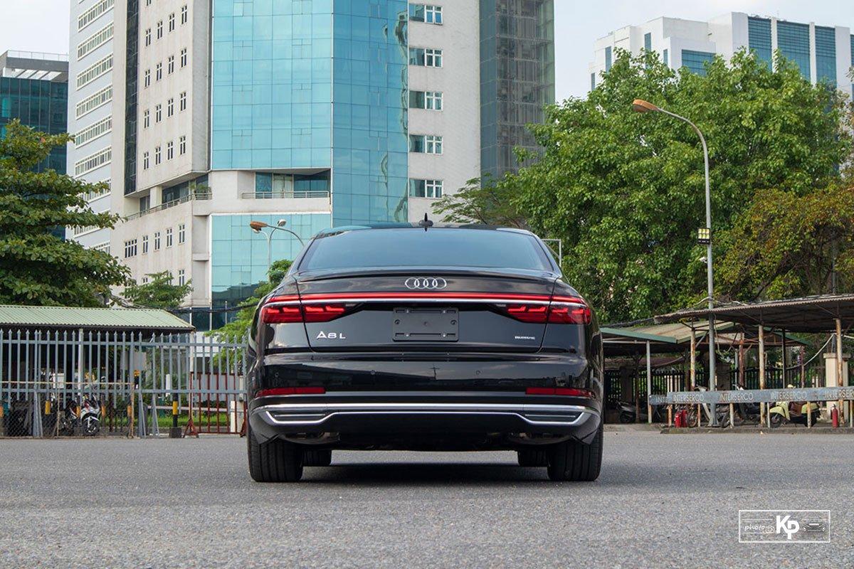 Ảnh Đuôi xe Audi A8L 2021
