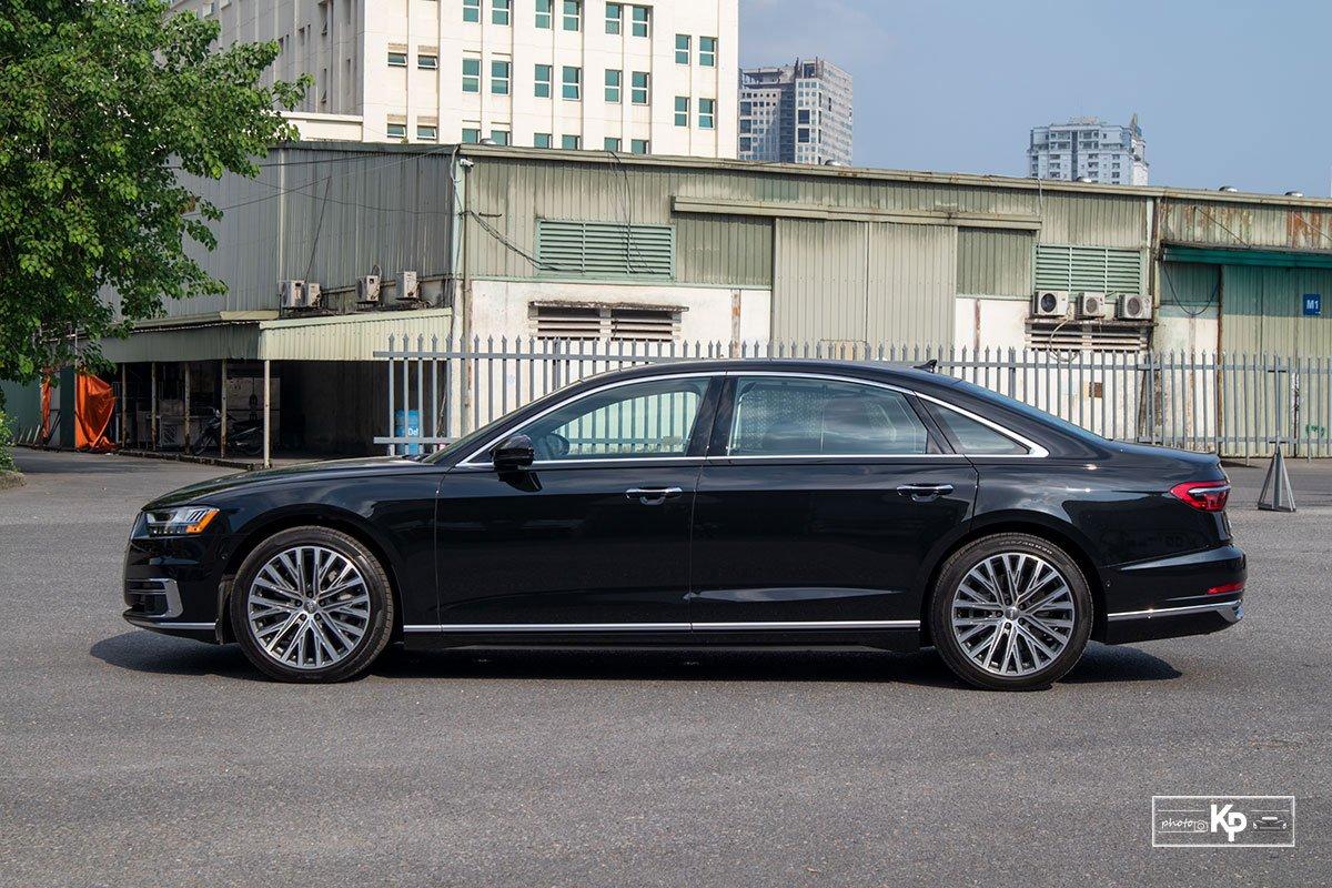 Ảnh Thân xe Audi A8L 2021