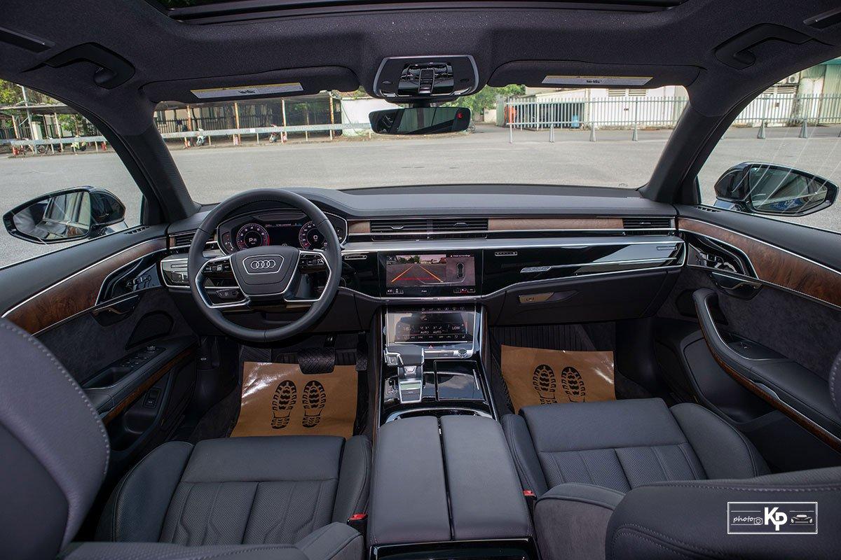 Ảnh Khoang lái xe Audi A8L 2021